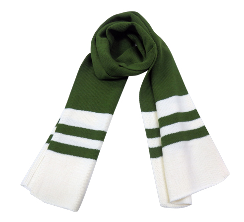 SCARF (WHITE & GREEN)