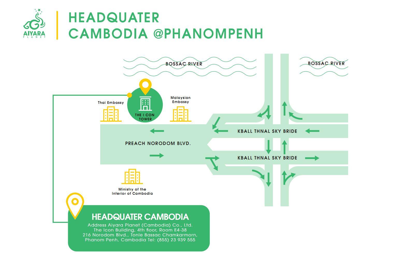 HQ PHANOMPENH, CAMBODIA