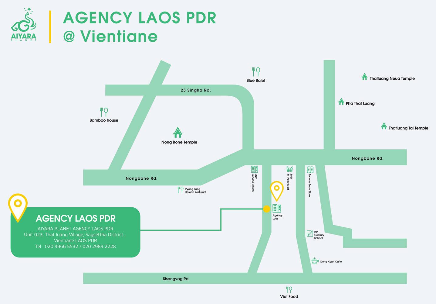 AGENCY VIENTIANE, LAOS