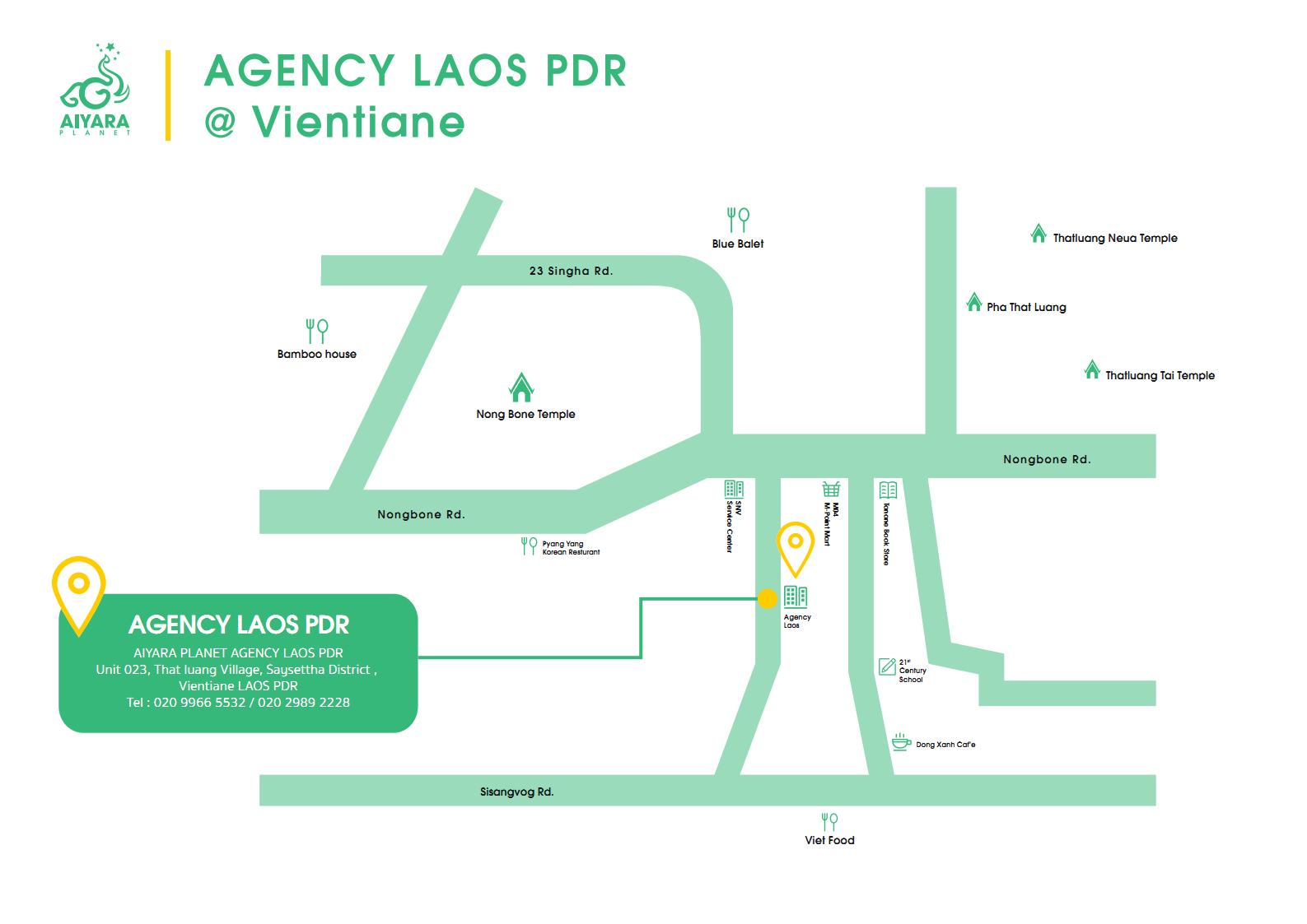 AIYARA AGENCY VIENTIANE, LAOS