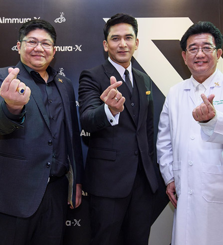 "(Thai) ป๋อ ณัฐวุฒิ พรีเซนเตอร์ ""Aimmura_X"""