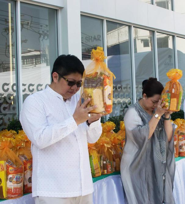 (Thai) ไอยราฯทำบุญวันขึ้นปีใหม่