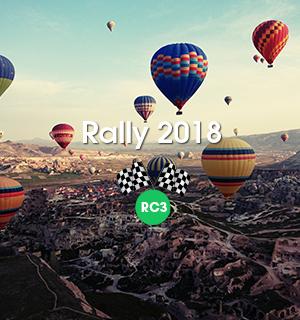 รายชื่อ Rally 2018 ท่องเที่ยวตุรกี