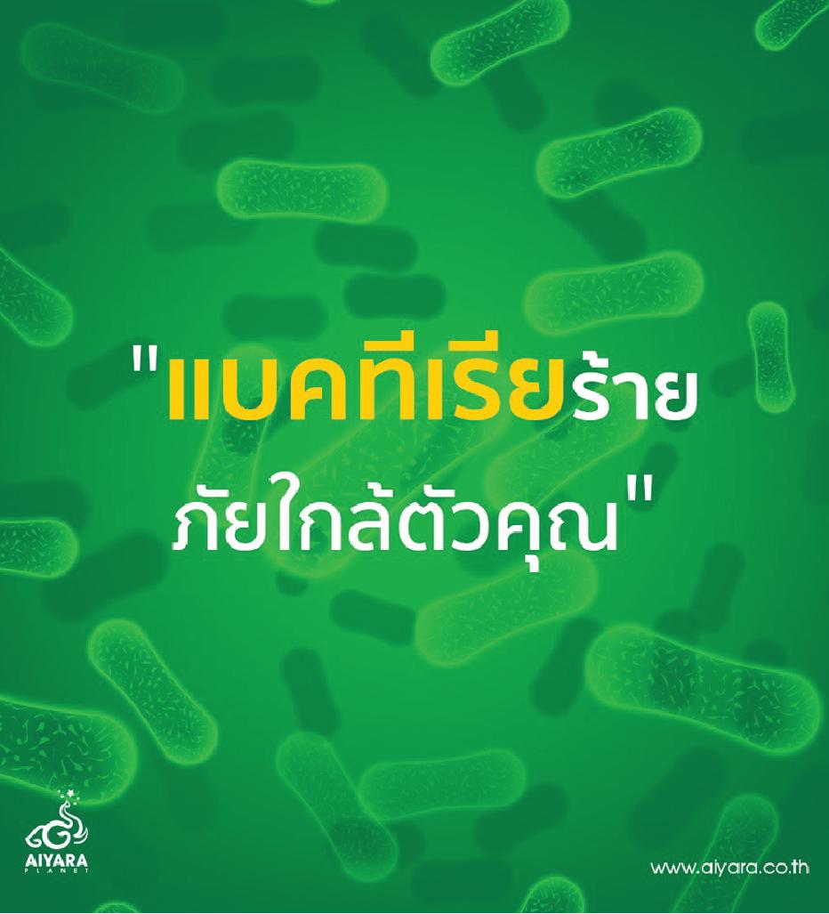 แบคทีเรียร้าย ภัยใกล้ตัวคุณ!!