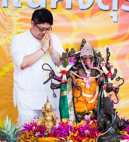 (Thai) ไอยเรศวร คเณศจตุรถี 2562