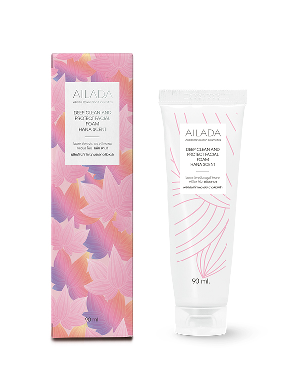 Deep Clean and Protect facial Foam Hana Scent