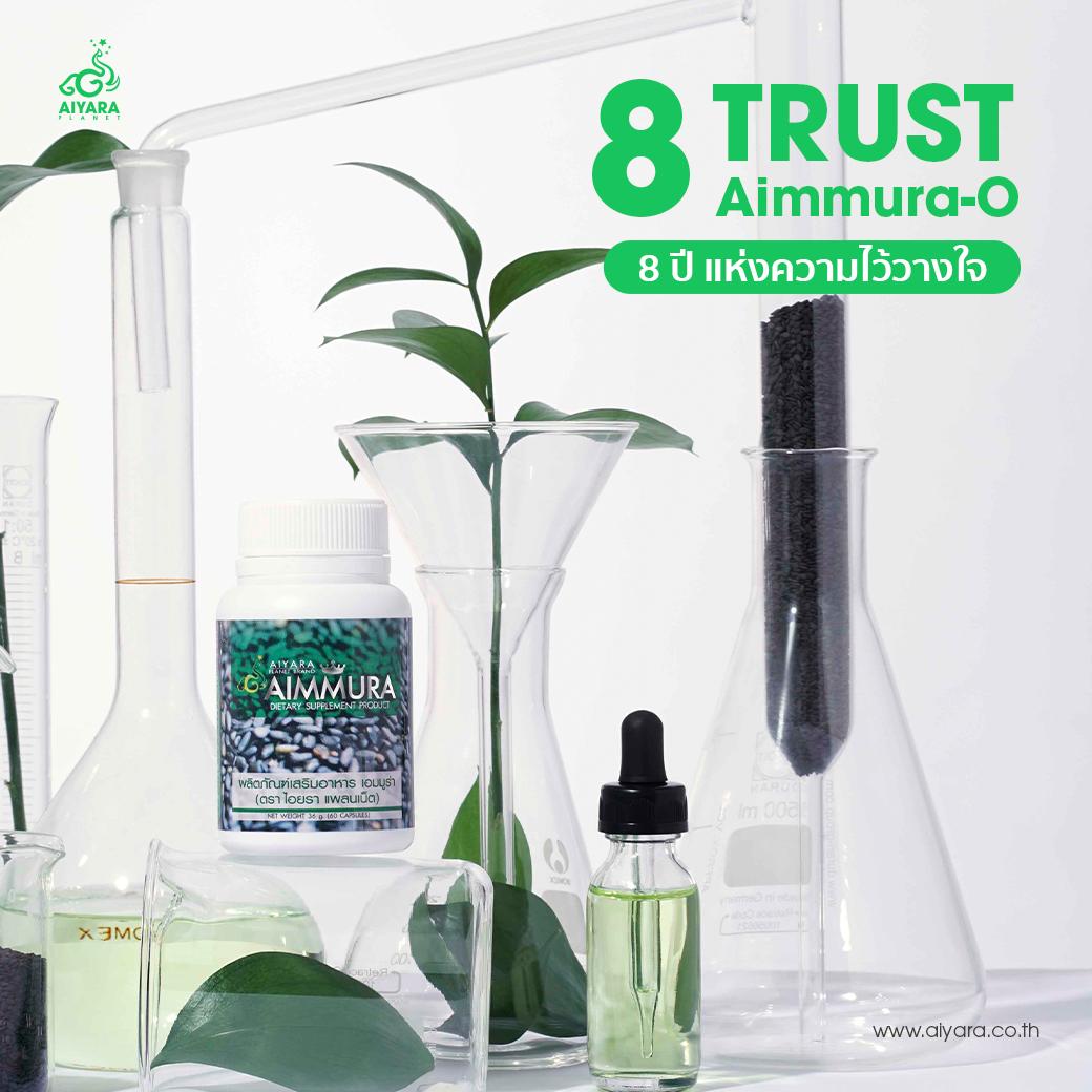 AIMMURA-O 8 ปีแห่งความไว้วางใจ